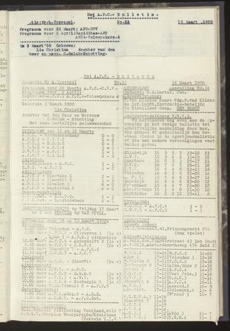 Bulletins (vnl. opstellingen) 1950-03-16