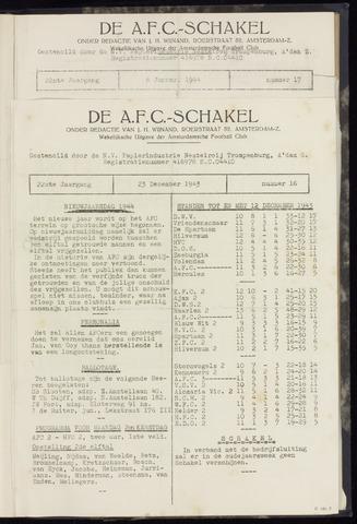 Schakels (clubbladen) 1943-12-23