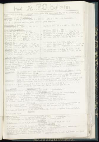 Bulletins (vnl. opstellingen) 1965-01-06