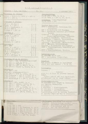 Bulletins (vnl. opstellingen) 1962-10-03