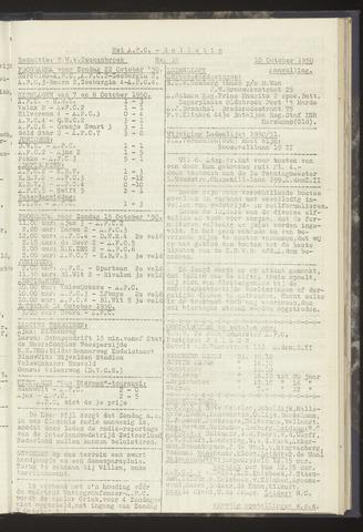 Bulletins (vnl. opstellingen) 1950-10-10