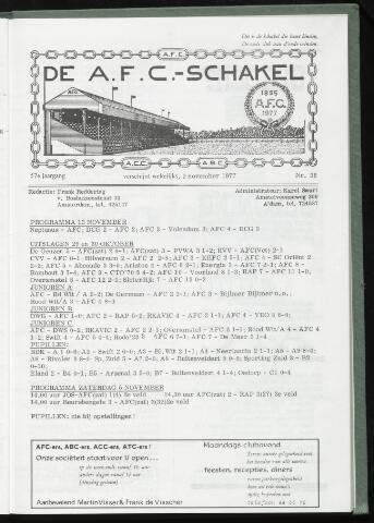 Schakels (clubbladen) 1977-11-02