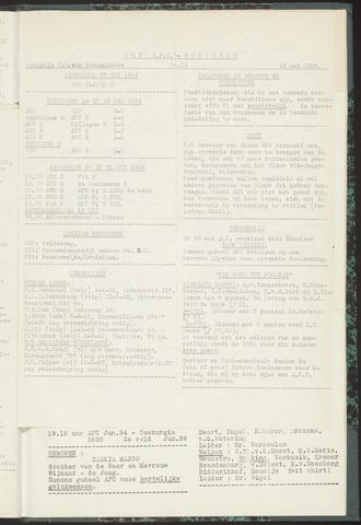 Bulletins (vnl. opstellingen) 1956-05-15