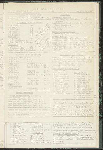 Bulletins (vnl. opstellingen) 1956-01-17