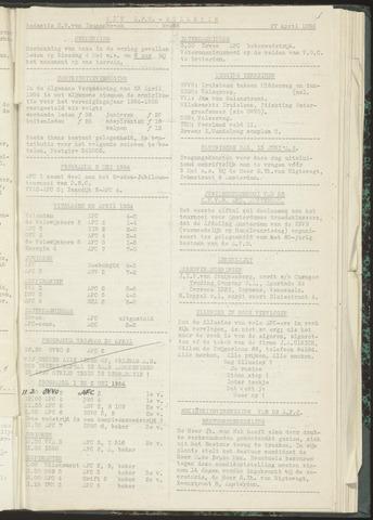 Bulletins (vnl. opstellingen) 1954-04-27