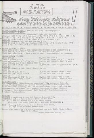 Bulletins (vnl. opstellingen) 1967-04-19