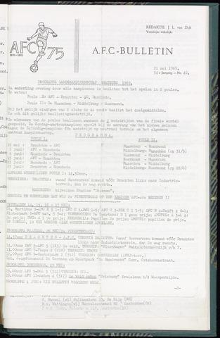 Bulletins (vnl. opstellingen) 1969-05-21