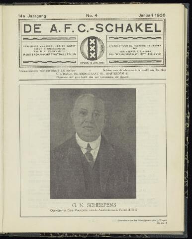 Schakels (clubbladen) 1936