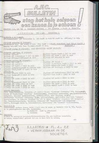 Bulletins (vnl. opstellingen) 1967-02-22