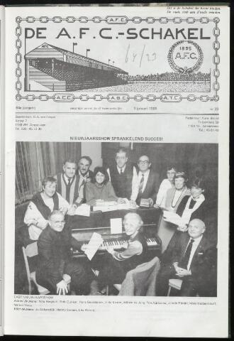 Schakels (clubbladen) 1985-01-09