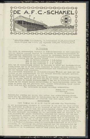 Schakels (clubbladen) 1938-08-11