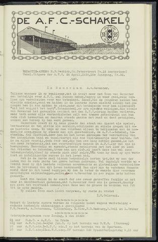 Schakels (clubbladen) 1938-04-28
