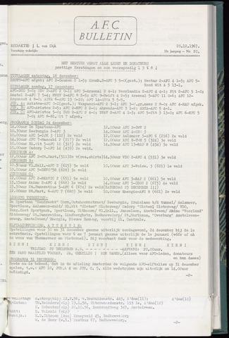 Bulletins (vnl. opstellingen) 1967-12-20