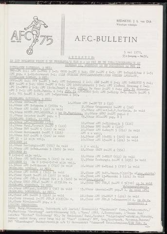 Bulletins (vnl. opstellingen) 1970-05-05