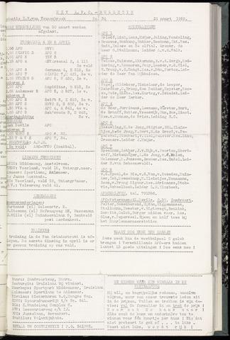 Bulletins (vnl. opstellingen) 1959-04-01