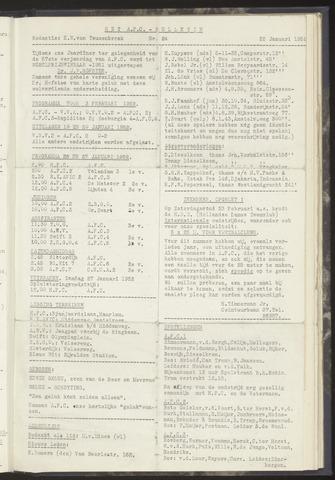 Bulletins (vnl. opstellingen) 1952-01-22