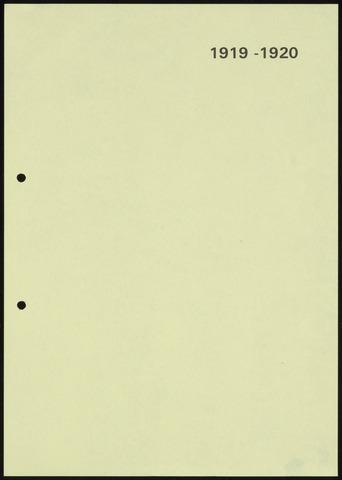 Jaarverslagen 1920-06-01