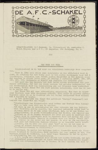 Schakels (clubbladen) 1939-08-24