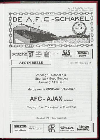 Schakels (clubbladen) 1991-10-09