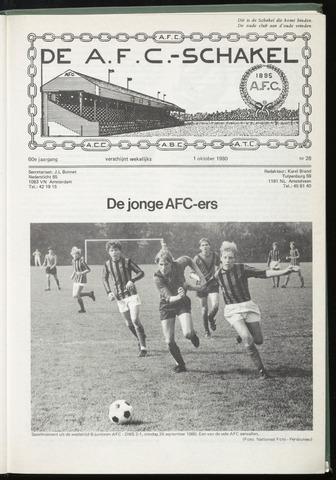 Schakels (clubbladen) 1980-10-01