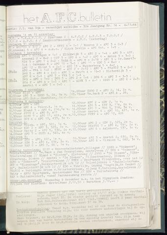 Bulletins (vnl. opstellingen) 1964-11-04