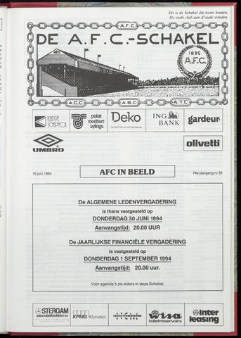 Schakels (clubbladen) 1994-06-15