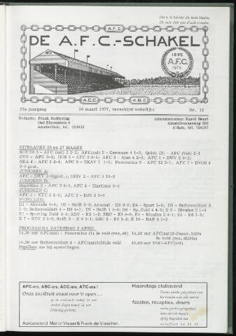 Schakels (clubbladen) 1977-03-30