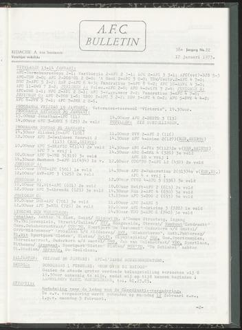 Bulletins (vnl. opstellingen) 1973-01-17