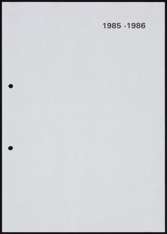 Jaarverslagen 1986-06-01