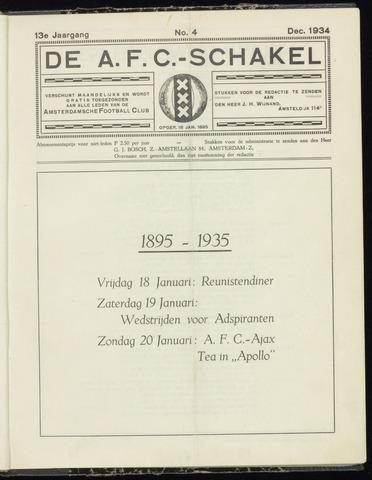 Schakels (clubbladen) 1934-12-01