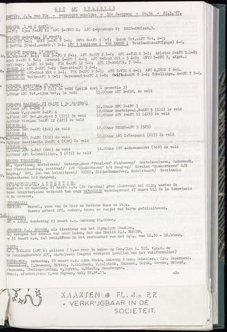 Bulletins (vnl. opstellingen) 1967-03-22