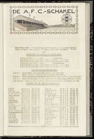 Schakels (clubbladen) 1941-03-27