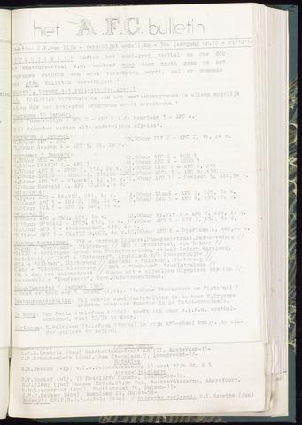 Bulletins (vnl. opstellingen) 1964-12-30