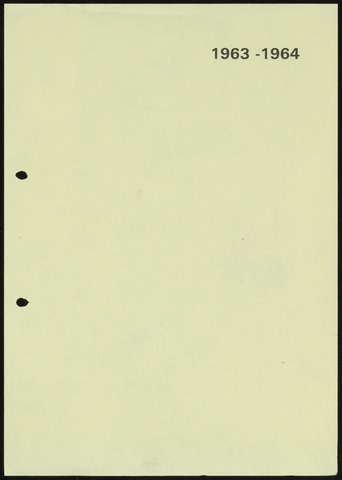 Jaarverslagen 1964-06-01