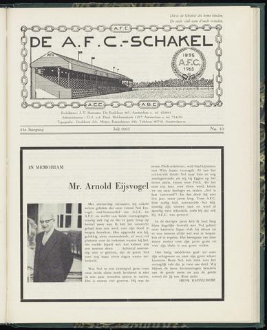 Schakels (clubbladen) 1965-07-01