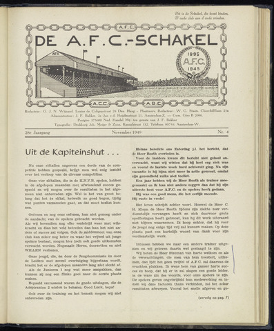 Schakels (clubbladen) 1949-11-01