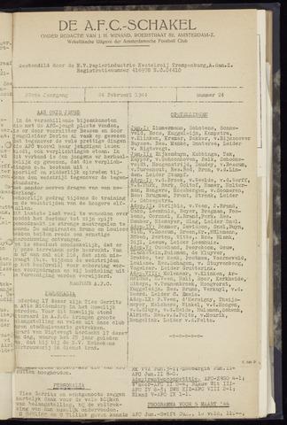 Schakels (clubbladen) 1944-02-24