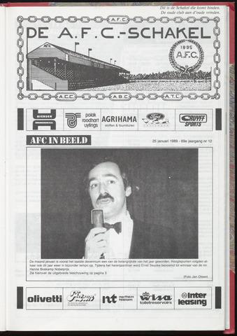 Schakels (clubbladen) 1989-01-25