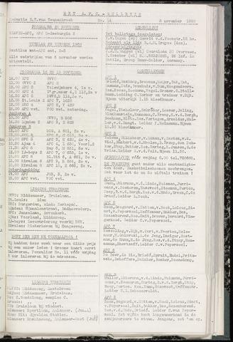 Bulletins (vnl. opstellingen) 1960-11-08