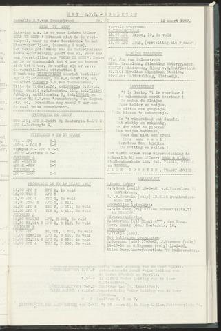 Bulletins (vnl. opstellingen) 1957-03-12