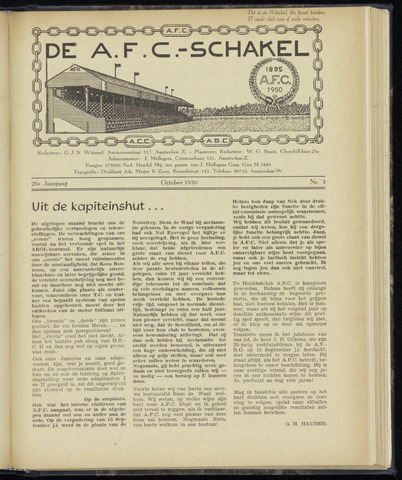 Schakels (clubbladen) 1950-10-01