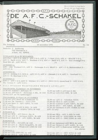 Schakels (clubbladen) 1975-11-25