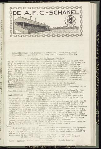 Schakels (clubbladen) 1942-06-25