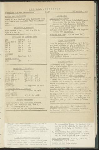 Bulletins (vnl. opstellingen) 1953-01-27