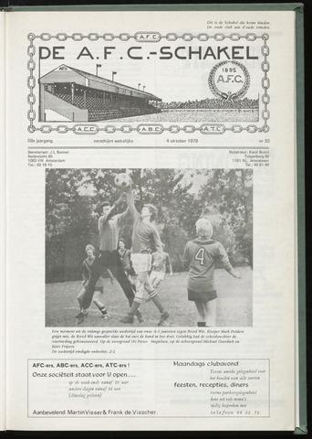 Schakels (clubbladen) 1978-10-04