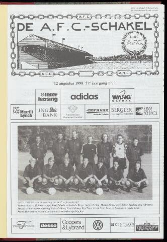 Schakels (clubbladen) 1998-08-12