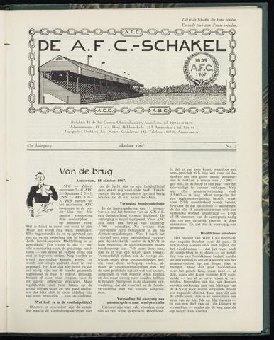 Schakels (clubbladen) 1967-10-01