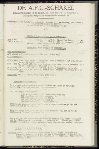 Schakels (clubbladen) 1942-12-24