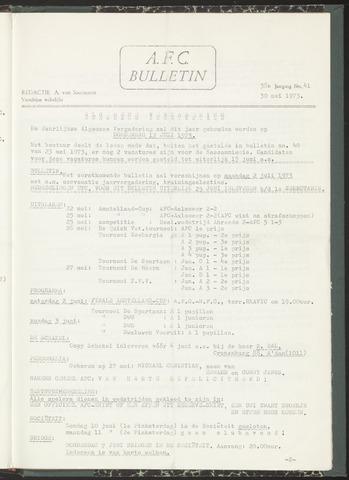 Bulletins (vnl. opstellingen) 1973-05-30