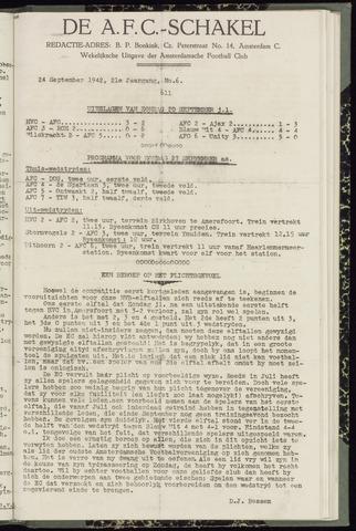 Schakels (clubbladen) 1942-09-24
